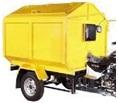 motor gerobak sampah