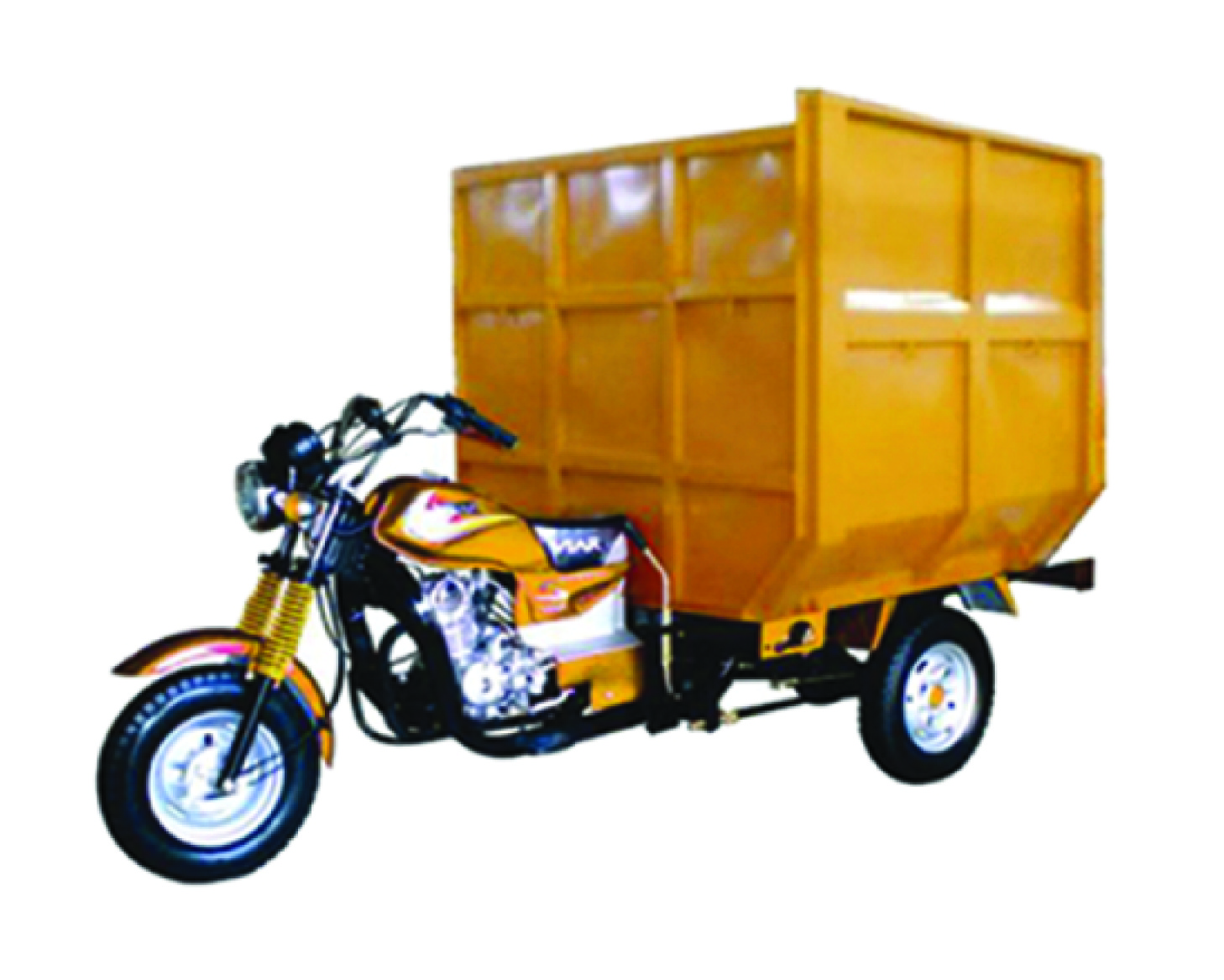 motor roda tiga gerobak Bak Sampah
